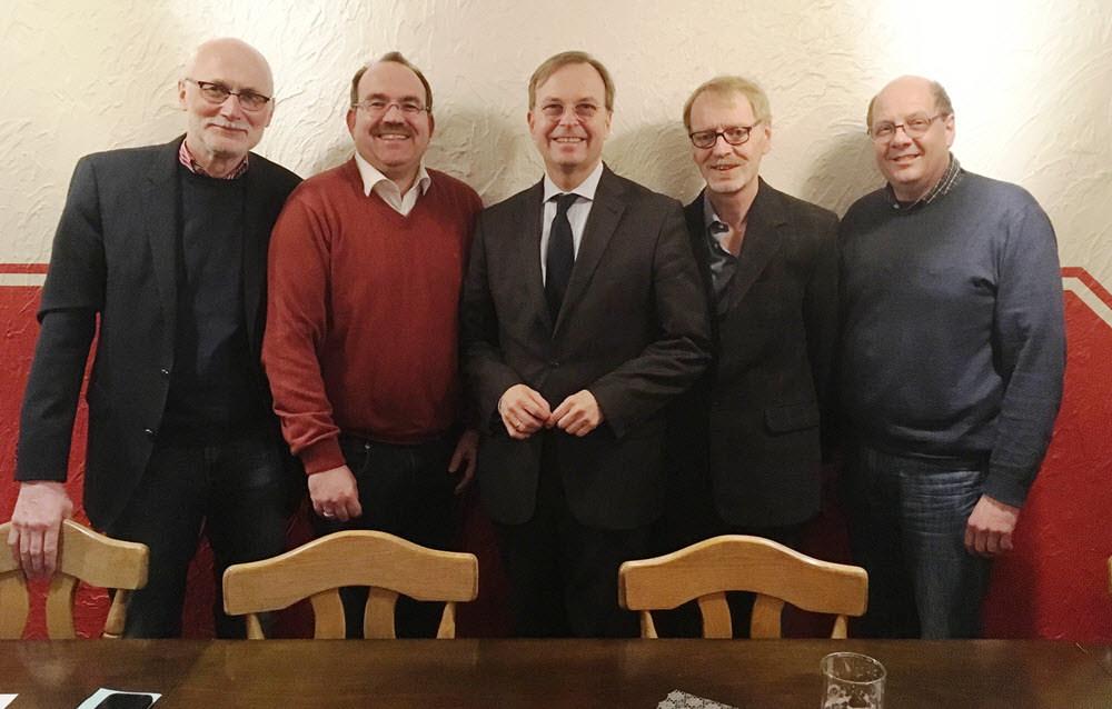 CDU Mitgliederversammlung am 23.02.2018 mit Thomas Rachel MdB und Dr. Ralf Nolten MdL